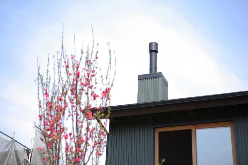 暖炉 煙突